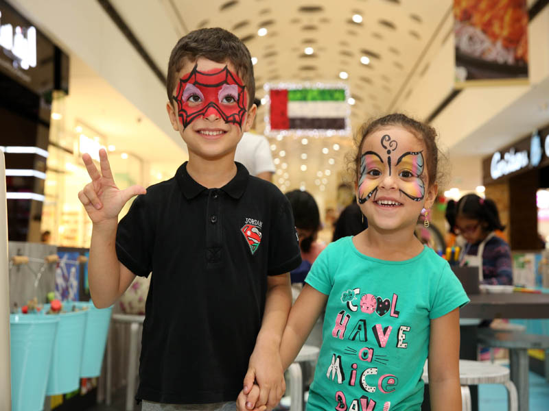 Matajer malls' free Art Lab workshops for communities in Sharjah a massive success